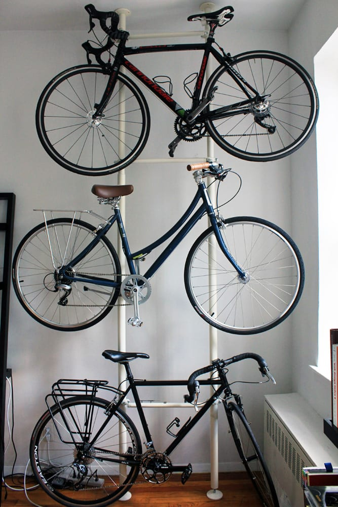 Bike Hack: DIY Bike Storage